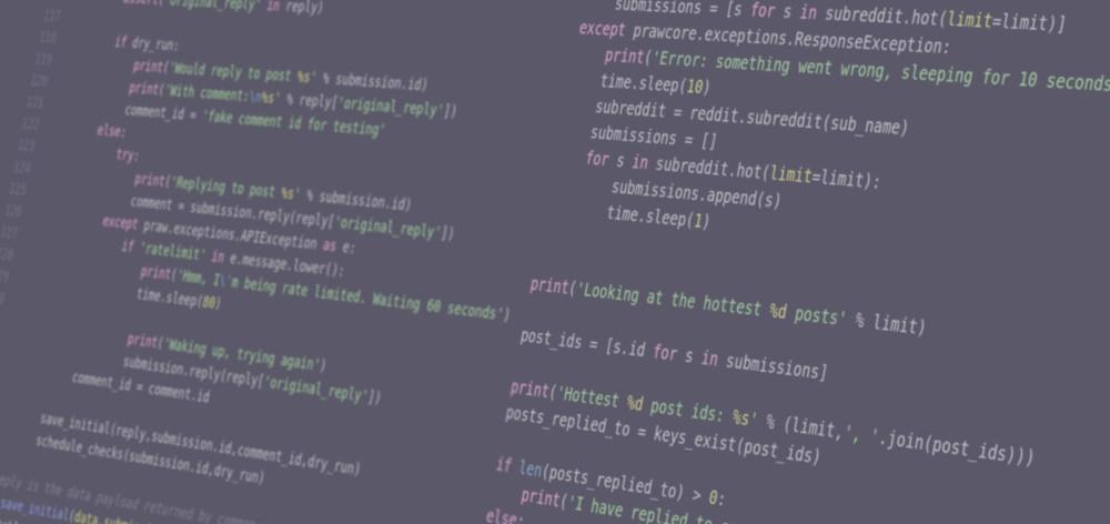 Python Reddit Bot